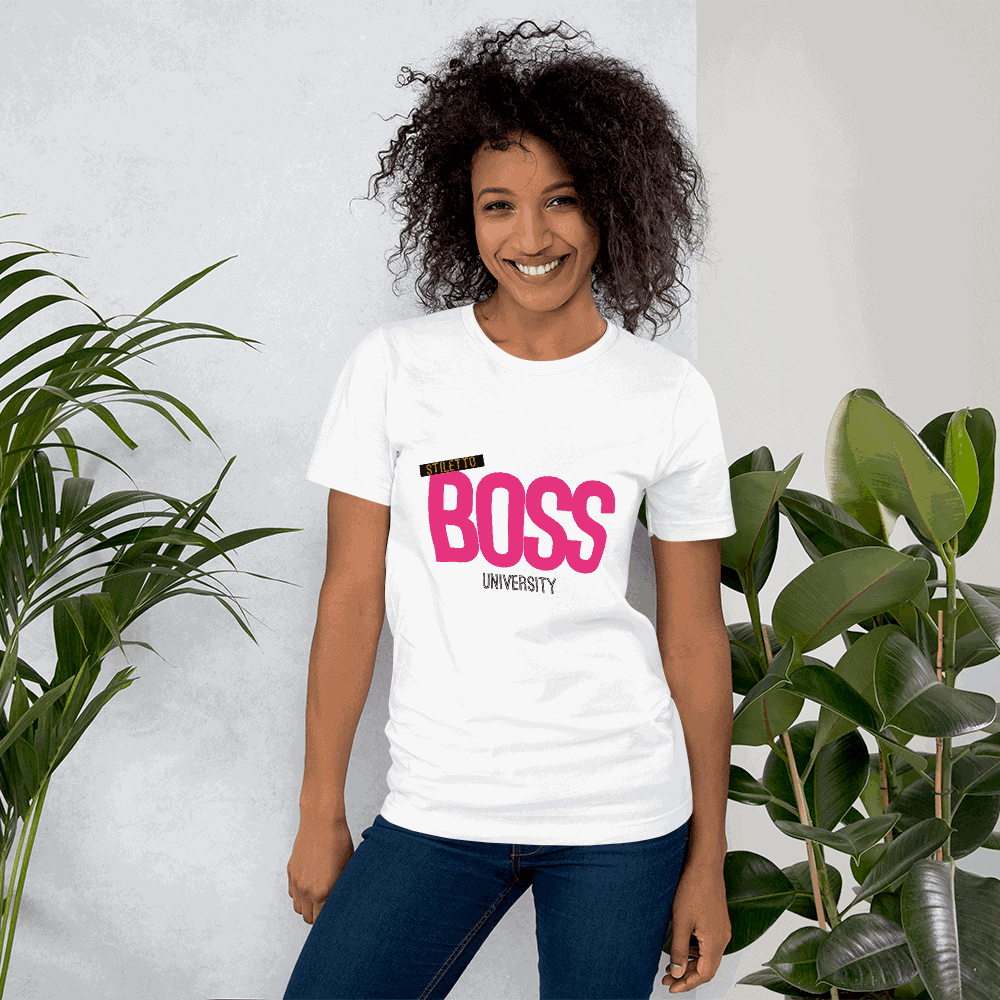 Boss T-Shirt - Stiletto Boss University