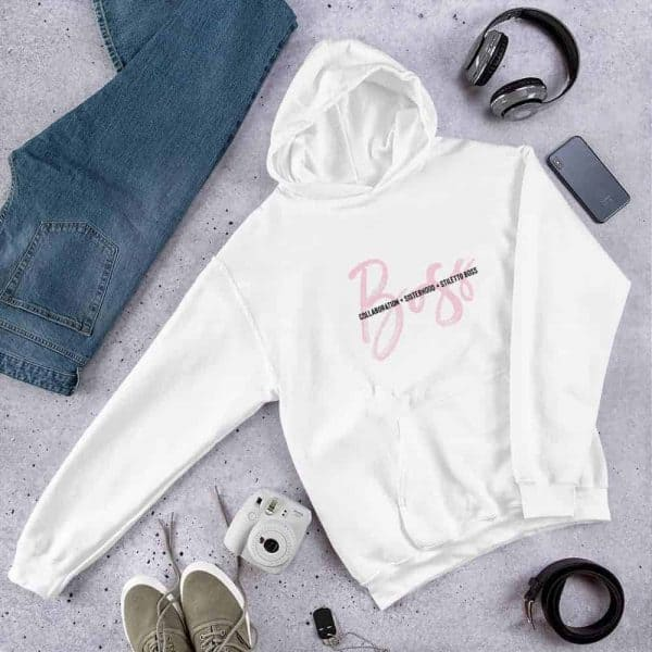 BOSS Hooded Sweatshirt - Stiletto Boss University
