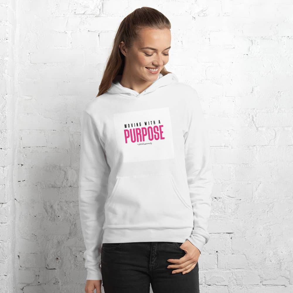 Purpose Hoodie White - Stiletto Boss University