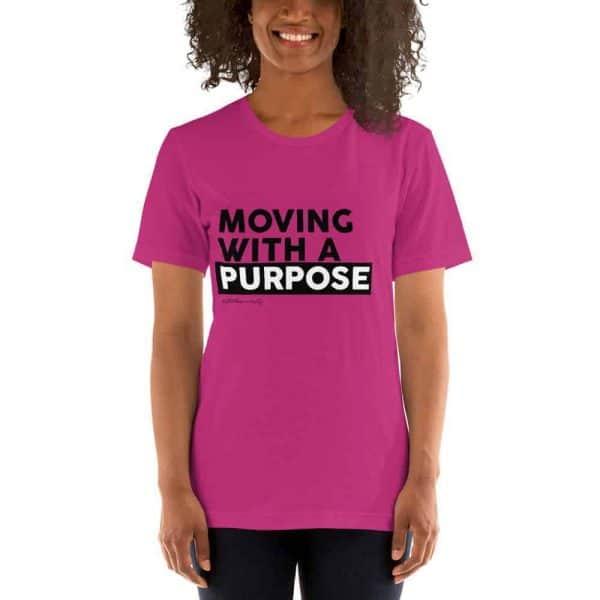 Short Sleeve Unisex T-Shirt - Pink - Stiletto University